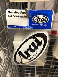 Authentic Arai Sticker for sale
