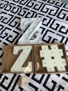 Alphabets light