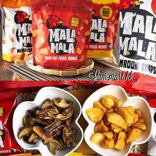新加坡MALA MALA 麻辣蘑菇片/手切薯角