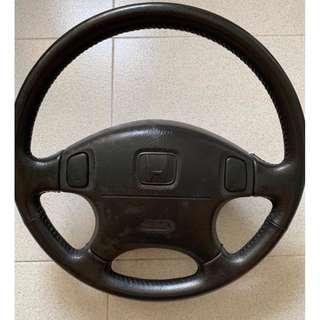 1999 Honda Civic SIR or EK4 Original Honda Leather Steering Wheel