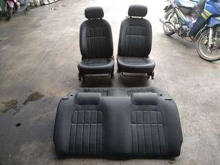 Seat Gino L7 Kelisa Leather Hitam