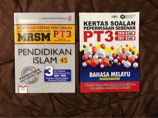 PT3 Exercise Books (BM & PI)