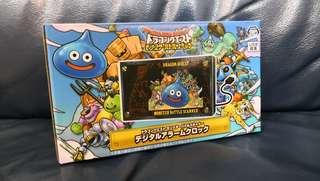 Dragon Quest Monster Battle Scanner 造型 Digital Alarm Clock 勇者鬥惡龍 日本景品