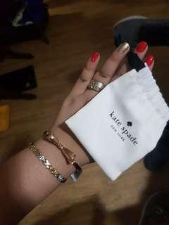 AUTHENTIC BRAND NEW WITH TAG Kate Spade Bangle Bracelet (Rose Gold)