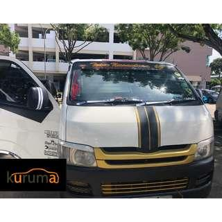 $1400 MONTHLY | HIACE