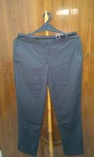 Celana Panjang warna abu abu tua