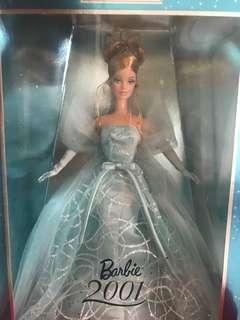 🚚 Snow Queen 2001 Barbie Doll