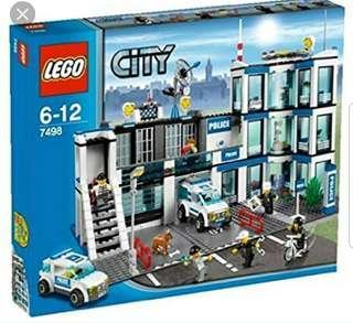 LEGO Police station 7498 (2011)