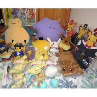 Pokemon Center Original 毛公仔