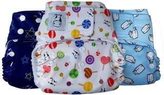 BN Moo Moo Kow Cloth Diapers