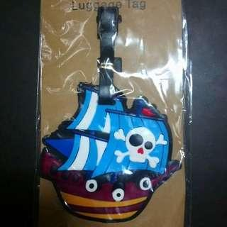 One piece luggage tag