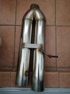 Custom pipe 3 inch