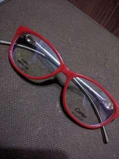 Cartier inspired eyeglasses