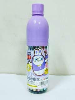 🚚 漂流瓶24色可水洗彩色筆 可洗水彩筆