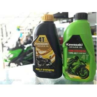 Kawasaki Genuine Oil Semi/Fully Synthetic Ninja Versys GTR ER6 Vulcan VN Z125 Z250 Z300 Z650 Z800 Z900 Z1000 KLX KSR