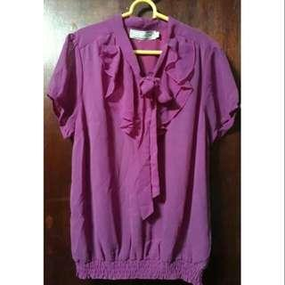Calypso blouse pink with price tag