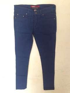 Blue Jeans Trousers / Celana Jeans Biru Gabrielle