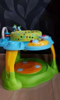 * moving house sale* luck baby rotatable seats activity centre