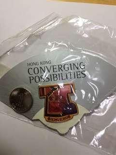 中國 裙褂 金屬襟章