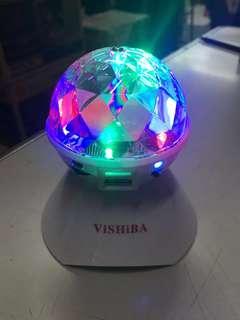 Vishiba Bluetooth Speaker Disco