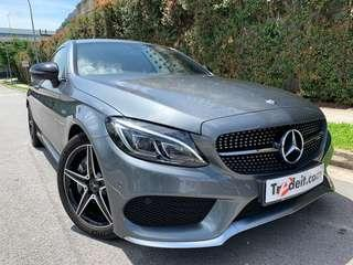 MERCEDES BENZ AMG C43 4MATIC COUPE (R18 LED)