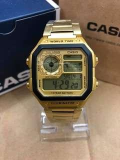 Casio OEM  With complete package  Water resistant