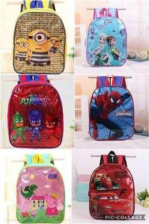 Brand New Children Carton Backpack