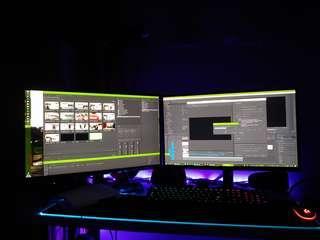 """X2 Acer 27"""" Full HD G277HL Monitor"""