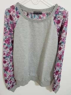 Free Fusion Flowery Top