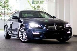B.M.W. 640I AT ABS D/AIRBAG 2WD 2DR COUPE