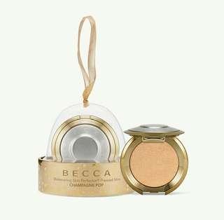 Becca Shimmering Skin Perfector Press Highlighter Mini Ornament #BEAUTY50