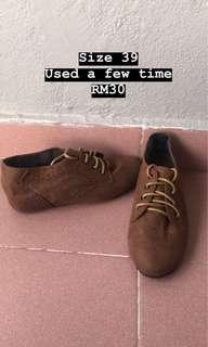 Brown Sneakers / Boots
