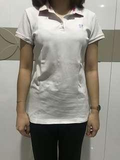 Giordano White Polo Shirt