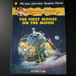 Geronimo Stilton : The First Mouse On The Moon (Graphic Novel / Comic Book)