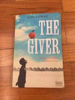 The Giver book( can be for literature)