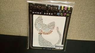 🚚 貓咪造型鑽石貼