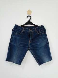 SECOND Distro Short Jeans ( condition 70% )
