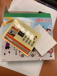 7-11 小丸子積木 豬太郎巴士 只賣不換