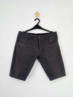 SECOND Chino Shorts Dark Grey ( condition 70% )