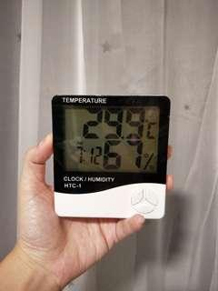 Humidity and temperature device