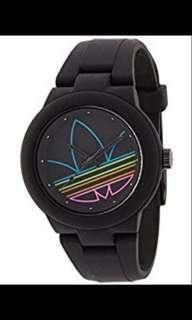 adidas Womens ADH3014 Aberdeen Analog Display Analog Quartz Black Watch