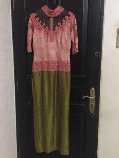 Long dress Kebaya payet pesta