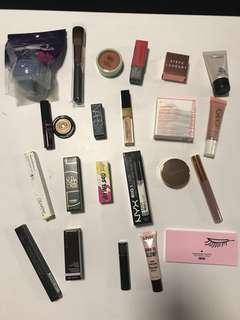 M.A.C., Napoleon Pedis, Nars, Tarte, Too Faced, etc Makeup/Skin Care/Body Care products