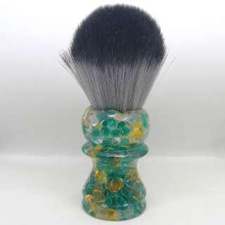 Green-pearl w/white TurnNShave Custom Shaving brush