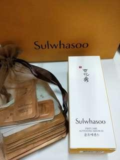 BNIB Sulwhasoo First care serum 60ml