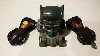 Fast Food Toys Batman Batmobile set