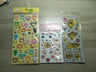 Pop-up stickers