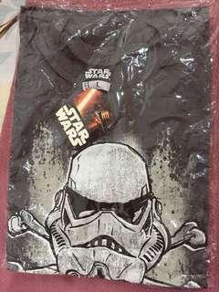 Star Wars Disney Stormtrooper Jolly Roger Print Grey