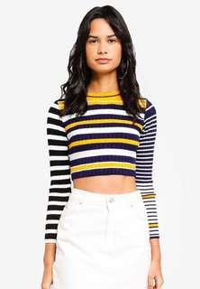 TOPSHOP PETITE CROPPED TOP