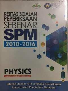 Physics SPM past year paper